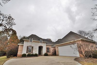 Tupelo Single Family Home For Sale: 138 Acadian County Road .