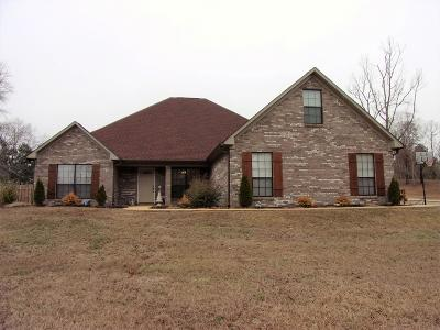 Tupelo Single Family Home For Sale: 104 Lamar County Road .