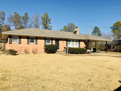 Tupelo MS Single Family Home For Sale: $109,000