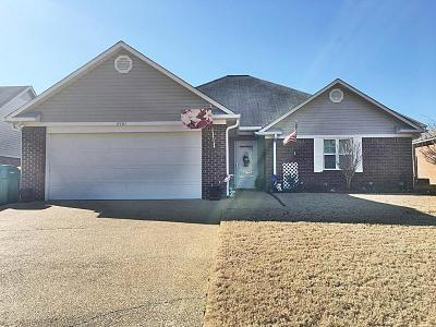Tupelo MS Single Family Home For Sale: $156,900