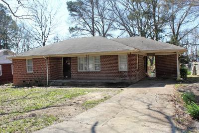 Tupelo Single Family Home For Sale: 109 S Foster Dr.