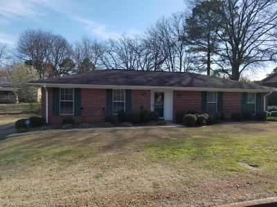 Tupelo Single Family Home For Sale: 2511 Hood Ave.
