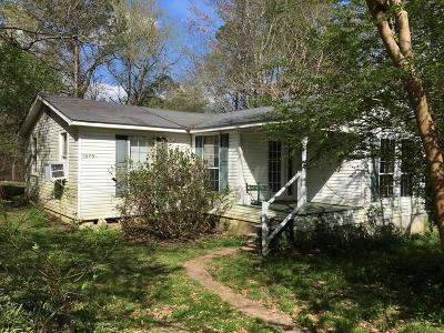 Single Family Home For Sale: 1575 Mt. Gilead Road
