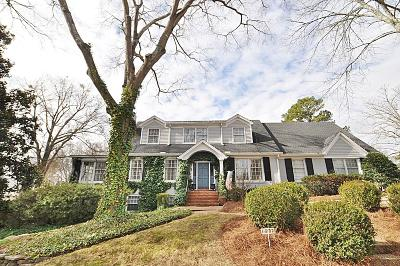 Single Family Home For Sale: 801 Oak Grove Road