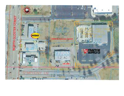Residential Lots & Land For Sale: 3946 N Gloster St.