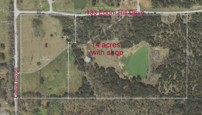 Residential Lots & Land For Sale: 133 Edom Hill Dr.