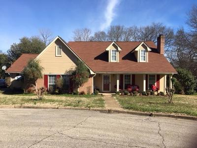 Tupelo Single Family Home For Sale: 103 Andrew