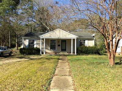 Tupelo Single Family Home For Sale: 1601 Trace