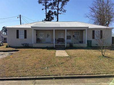 Tupelo Single Family Home For Sale: 1607 A & B Clayton