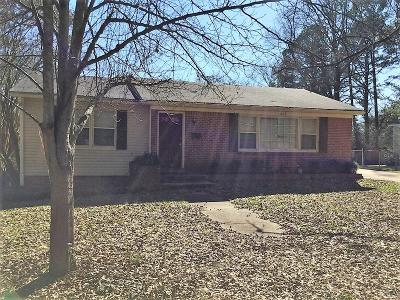 Tupelo Single Family Home For Sale: 1606 Shands Dr.