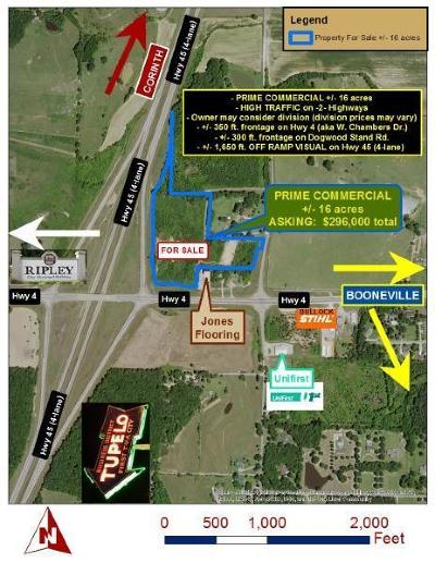 Residential Lots & Land For Sale: Hwy 4 At Hwy 45