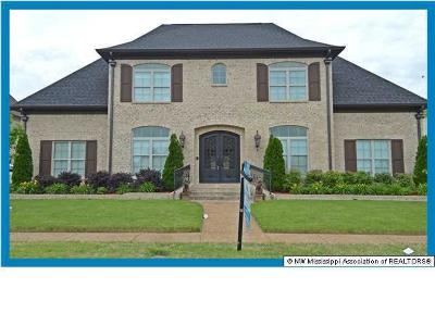 Olive Branch Single Family Home For Sale: 6281 Bear Cove