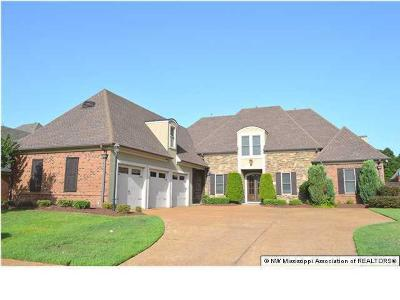 Olive Branch Single Family Home For Sale: 6197 Bear Cove