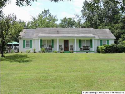 Byhalia Single Family Home For Sale: 8629 Highway 178 Highway #178