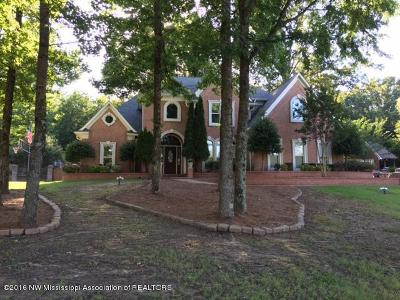 Desoto County Single Family Home For Sale: 5115 Meadow Pointe Drive