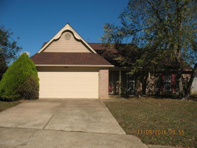Olive Branch Single Family Home For Sale: 10492 Carrington Drive