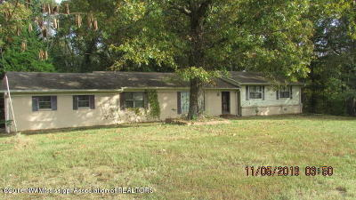 Potts Camp Single Family Home For Sale: 3113 Ms-349