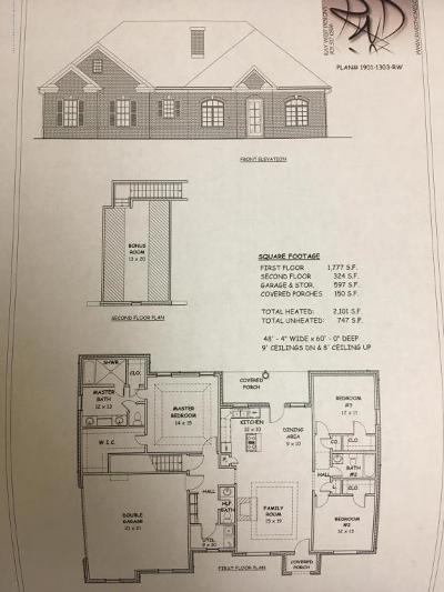 Byhalia Single Family Home For Sale: Lot 1 Castle Pines
