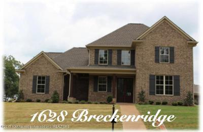 Hernando Single Family Home For Sale: 1628 Breckenridge