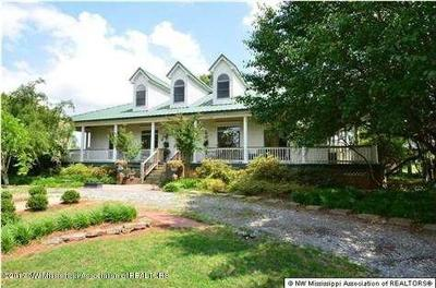 Tate County Single Family Home For Sale: 6200 Yellow Dog