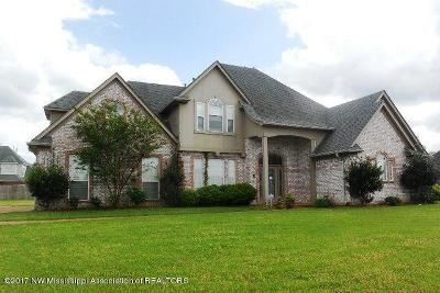 Southaven Single Family Home For Sale: 4563 Golden West Cove