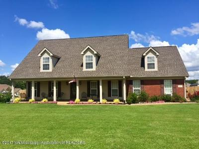 Tate County Single Family Home For Sale: 101 Janey Drive