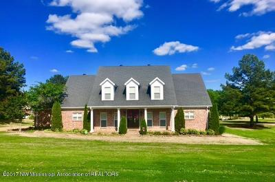 Tate County Single Family Home For Sale: 125 Tall Oaks Drive