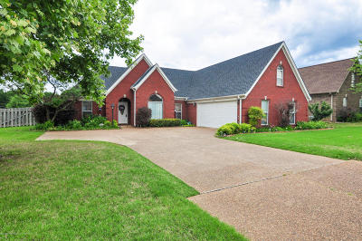 Horn Lake Single Family Home For Sale: 1660 Crossing Drive