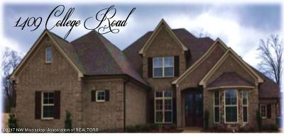 Southaven Single Family Home Active/Contingent: 1409 College Road