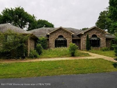 Tate County Single Family Home For Sale: 19496 E Highway 4