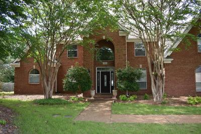 Southaven Single Family Home For Sale: 2290 Cumberland Drive