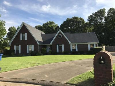 Horn Lake Single Family Home For Sale: 1907 Engineer Cove