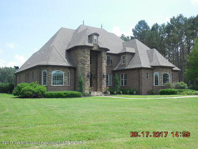 Marshall County Single Family Home For Sale: 131 Ms-310