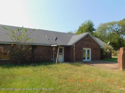 Tate County Single Family Home For Sale: 3146 Stage