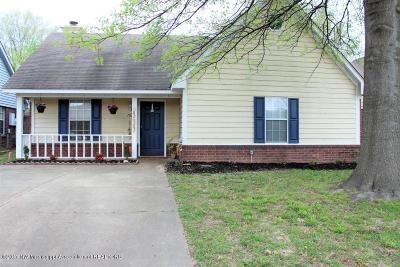 Horn Lake Single Family Home For Sale: 7025 Tudor