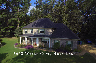 Horn Lake Single Family Home For Sale: 5662 Wayne Cove