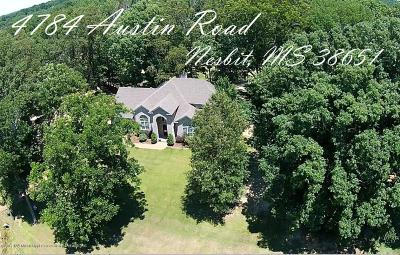 Desoto County Single Family Home For Sale: 4784 Austin Road
