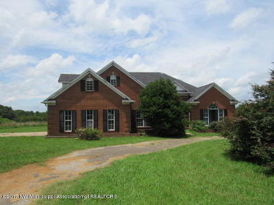 Tate County Single Family Home For Sale: 385 Magnolia Drive
