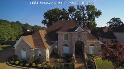 Desoto County Single Family Home For Sale: 6552 Sundance
