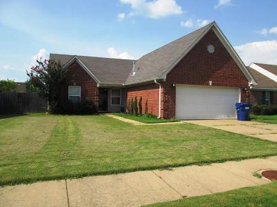 Horn Lake Single Family Home For Sale: 2434 Mooneyham