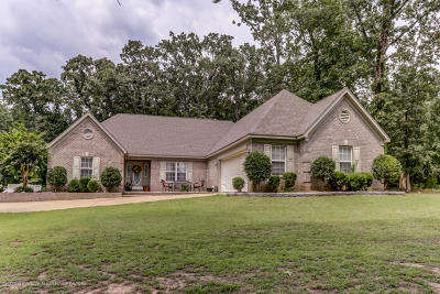 Holly Springs Single Family Home For Sale: 99 Coldwater Bend