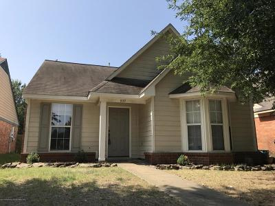 Southaven Single Family Home For Sale: 937 McGowan