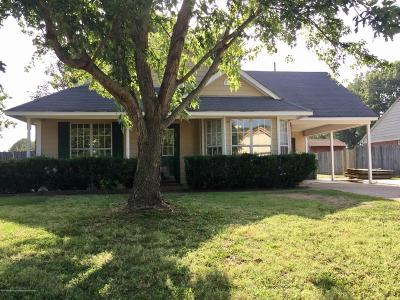 Tate County Single Family Home For Sale: 108 Peach Tree