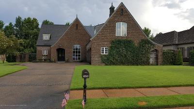 Desoto County Single Family Home For Sale: 4941 S Fleur De Lis