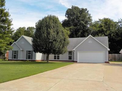 Horn Lake Single Family Home For Sale: 7632 Woodshire
