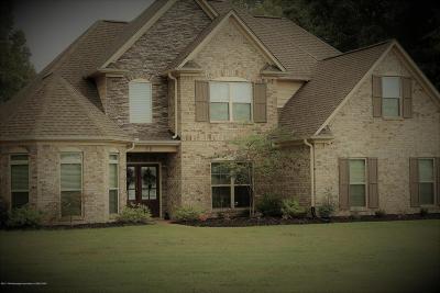 Byhalia Single Family Home For Sale: 30 Castle Pine Cove