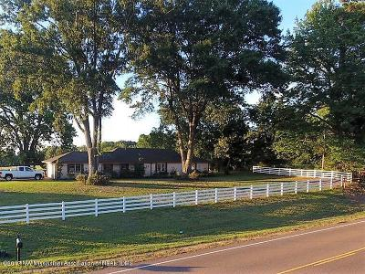 Tate County Single Family Home For Sale: 5865 W Hwy 4