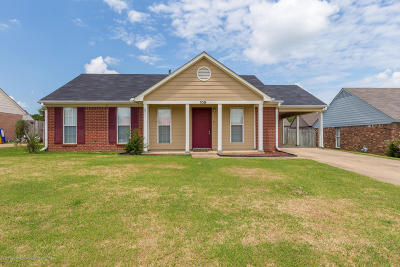 Tate County Single Family Home For Sale: 109 Country Meadows Drive