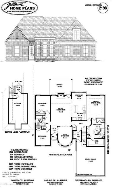 Desoto County Single Family Home For Sale: 3537 Enclave Drive