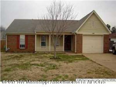Southaven Single Family Home For Sale: 8165 Long Branch Drive